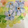 Vergissmeinnicht, Copic, Frühlingsblumen, Frühling