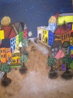 Malerei, Nacht