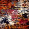 Acrylmalerei, Dunkel, Spachteltechnik, Strukture