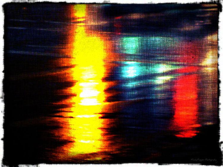 Regen, Licht, Spiegelung, Fotografie