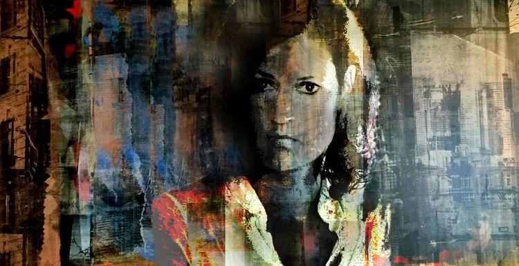 Frau, Portrait, Fotografie,