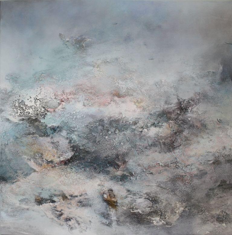 Bild: Malerei, Abstrakt, Weiß, Kopie Von Andrea Rathert ...