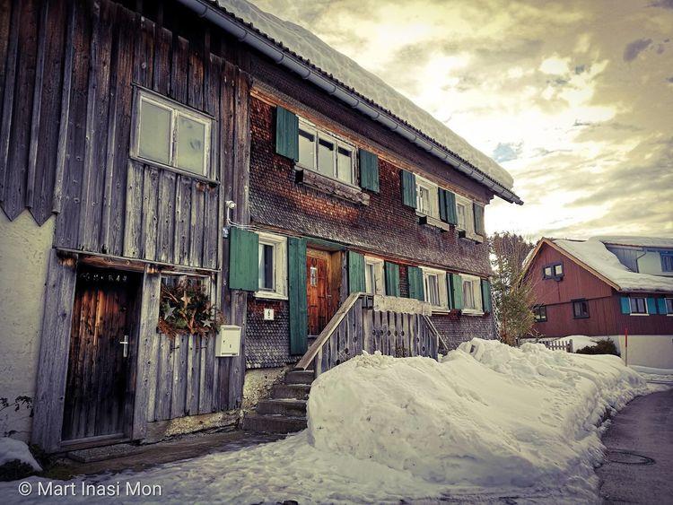 Allgäuer, Bauernhof, Winter, Fotografie
