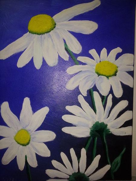 Pflanzen, Malerei, Acrylmalerei,