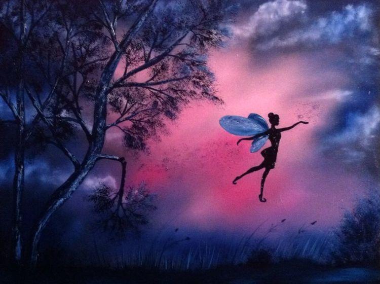 Fantasie, Traum und wirklichkeit, Malerei