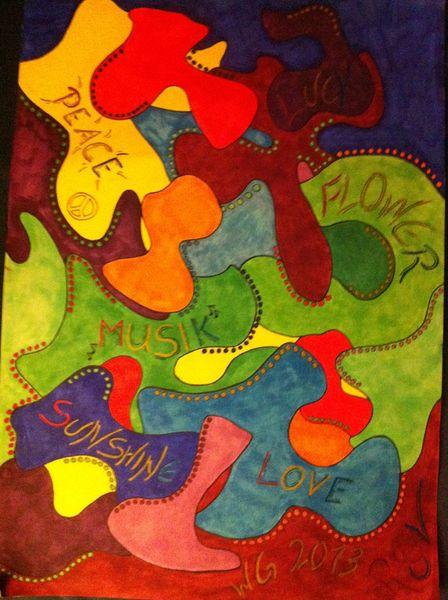 2013, Zeichnung, Zeichnungen, Farben,