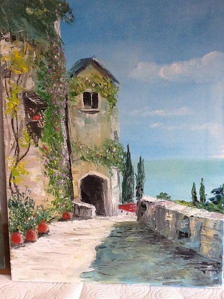 Stillleben, Malerei, Mittelmeer