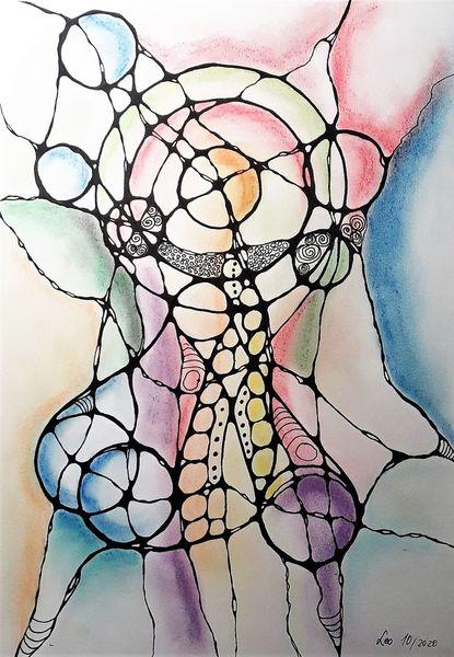 Fantasie, Neurografik, Zeichnen, Ausdruck, Intuition, Zeichnungen