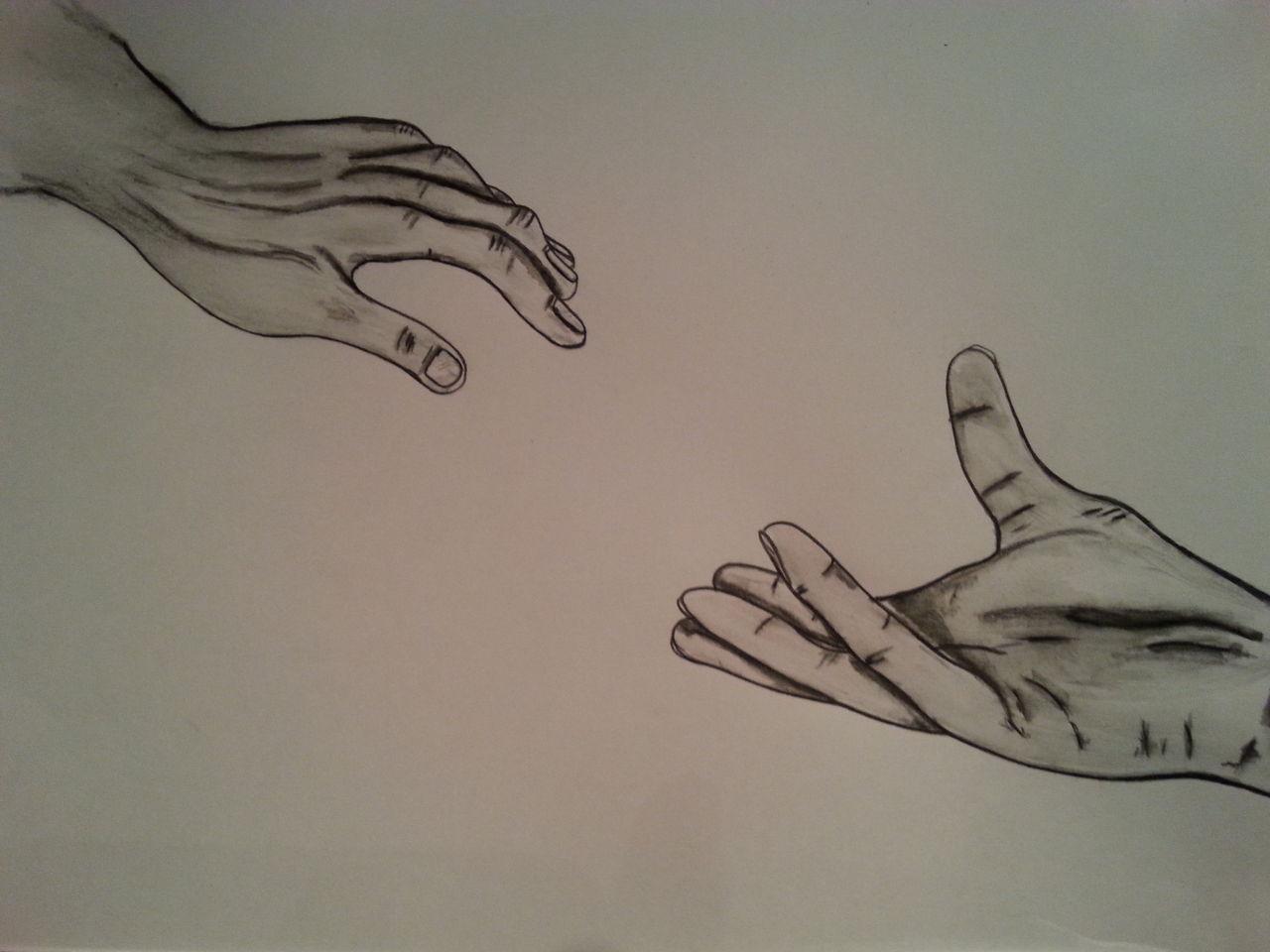 nimm meine hand hand liebe zeichnungen hand von cubito bei kunstnet. Black Bedroom Furniture Sets. Home Design Ideas