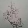 Tattoo vorlage, Zeichnungen, Lilie