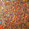 Farben, Drip painting, Tropfen, Malerei