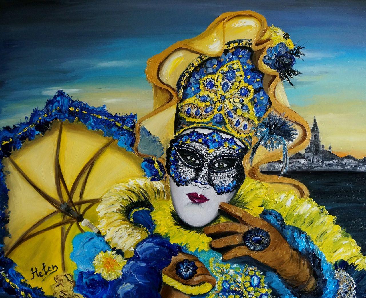 Oil Paint Mask