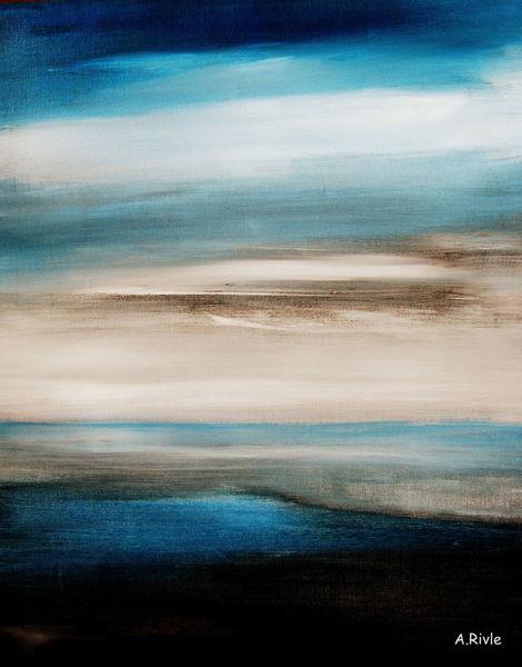 Himmel, Stimmung, Meer, Wasser, Malerei, Fernweh