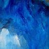 Blau, Abstrakt, Serie, Malerei