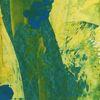 Öko, Grün, Weg, Malerei