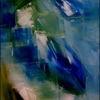 Grün, Weiß, Glashaus, Blau