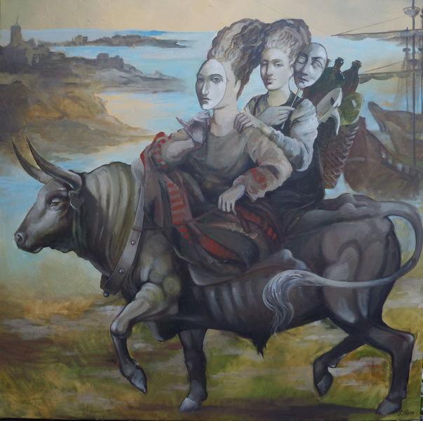 Ölmalerei, Gemälde, Malerei, Reise