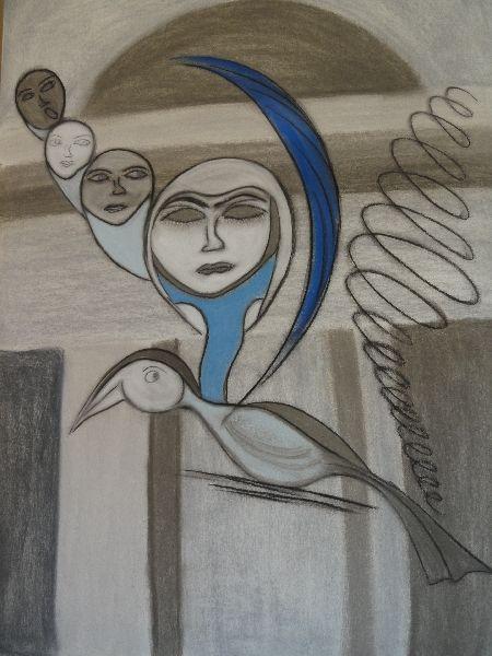 Malerei, Spirale