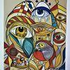 Augen, Fantasie, Bunt, Abstrakt
