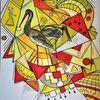 Wortlos, Bunt, Abstrakt, Gestaltung