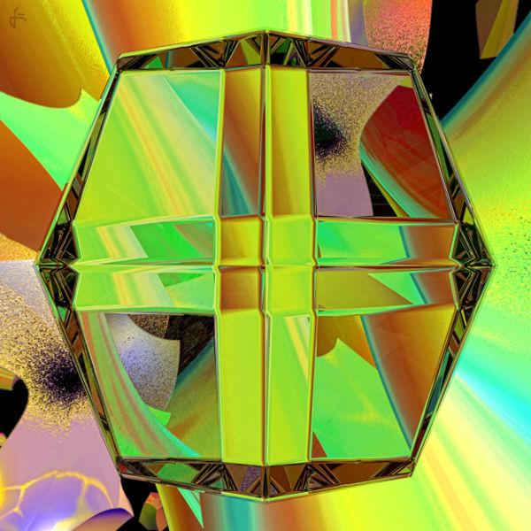 Spiegelung, Digital, Refraktion, Blender, Lichtbrechung, Digitale kunst