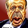 Erdogan, Karikatur, Türkei, Gimp