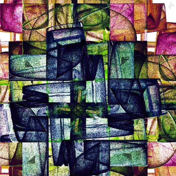 Digital, Incendia, Fraktalkunst, Digitale kunst, Stein