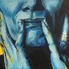 Gelb, Blau, Frau, Expressionismus
