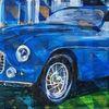 Ferrari, Blau, Oldtimer, Klassiker