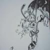 Edding, Hase, Uhr, Zeichnung