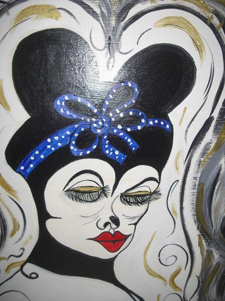 Malerei, Maske, Maus,