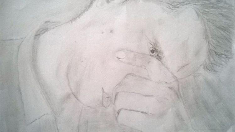 Schwarz, Bleistiftzeichnung, Zeichnung, Zeichnungen