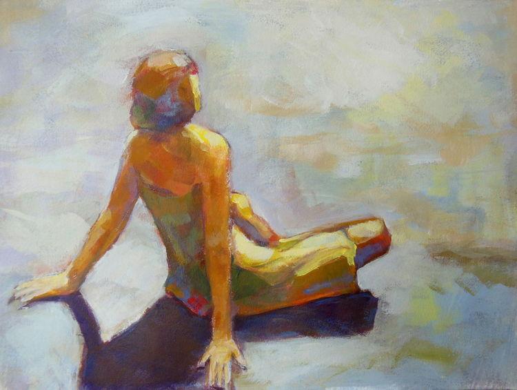 Du bist, Sonne, Augenblick, Platz, Farben, Malerei