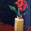 Blumen, Rot, Betörend, Vase