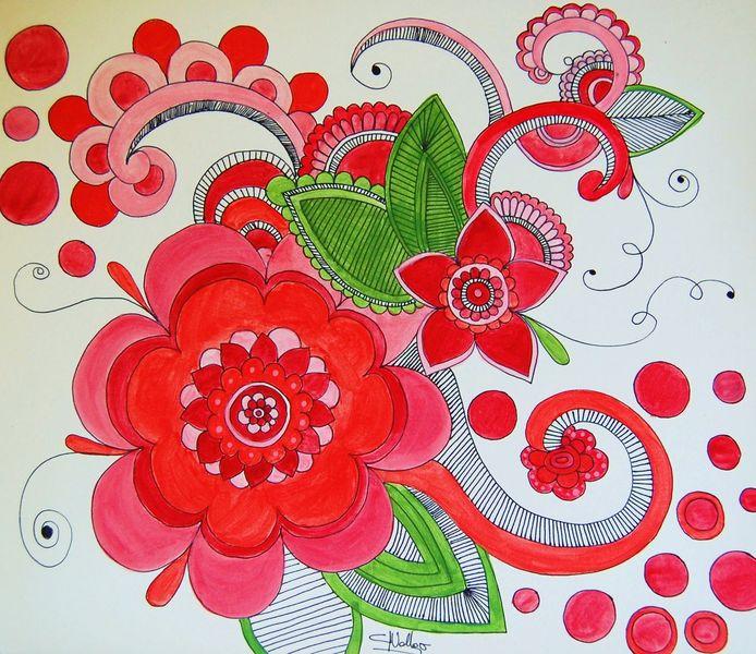 Figural, Acrylmalerei, Malerei, Mandala,