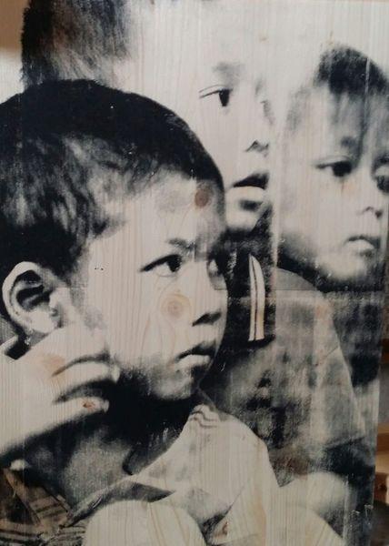 Portrait, Siebdruck, Nepal, Popart, Druckgrafik, Kids