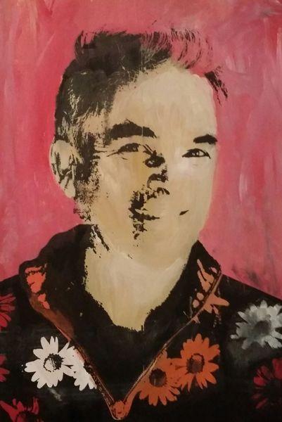 Popart, Portrait, Druckgrafik,