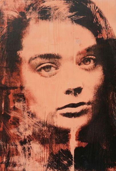 Popart, Portrait, Siebdruck, Druckgrafik