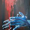 Blau, Hände, Applaus, Rot