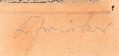 Signatur, Pinnwand,