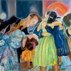 Gemälde, Katja kasyanov, Tanz, Party