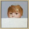 Augen, Blick, Kind, Portrait
