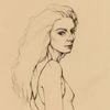 Lorde, Mädchen, Gesicht, Zeichnungen