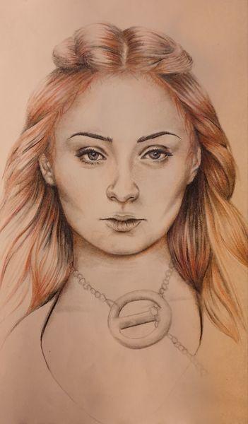 Game of thrones, Sansa stark, Portrait, Frau, Got, Junge dame