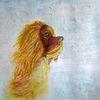 Hund, Aquarellmalerei, Tiere, Aquarell