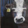 Tierrechte, Natur, Kuh, Acrylmalerei