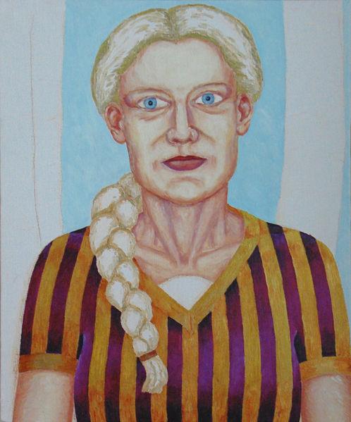 Malerei, Portrait, Figurativ