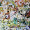 Acrylmalerei, Abstrakt, Komposition, Malerei