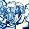 Entscheidung, Acrylmalerei, Geborgenheit, Blickwinkel