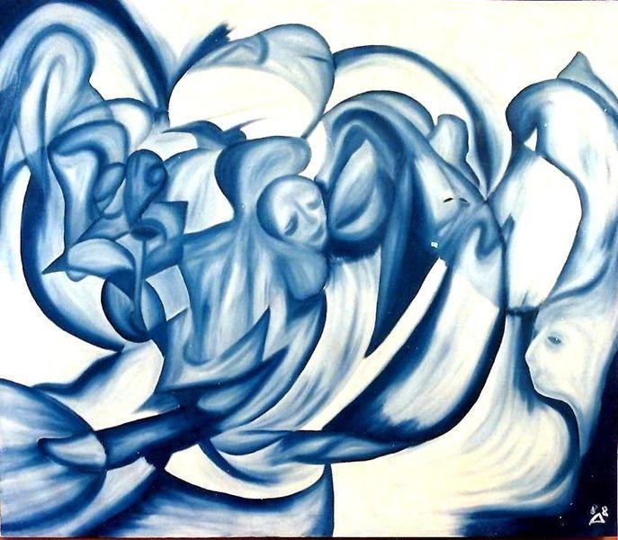 Geborgenheit, Blickwinkel, Traum7, Eintauchen, Blau, Entscheidung